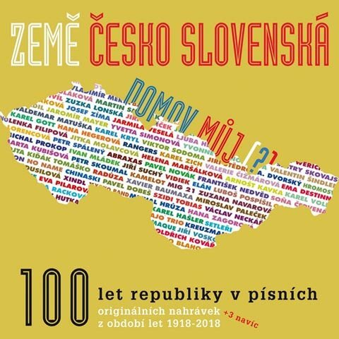 Země československá, domov můj, Různí interpreti (5 CD)