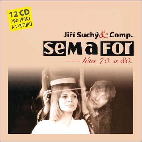 Semafor Komplet 70. a 80. léta (12 CD)