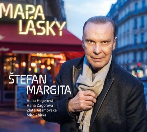 Štefan Margita: Mapa lásky (CD)