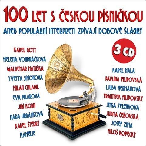 100 let s českou písničkou, Různí interpreti (3 CD)