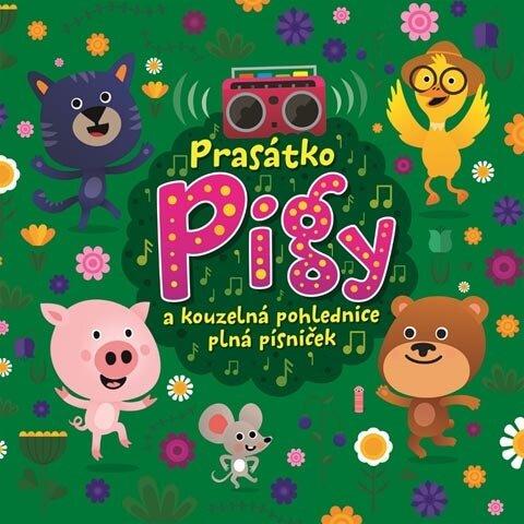 Prasátko Pigy a kouzelná pohlednice plná písniček, Různí interpreti (CD)