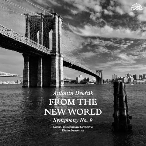 """Antonín Dvořák: Symfonie č. 9 e moll """"Z Nového světa"""" (LP)"""