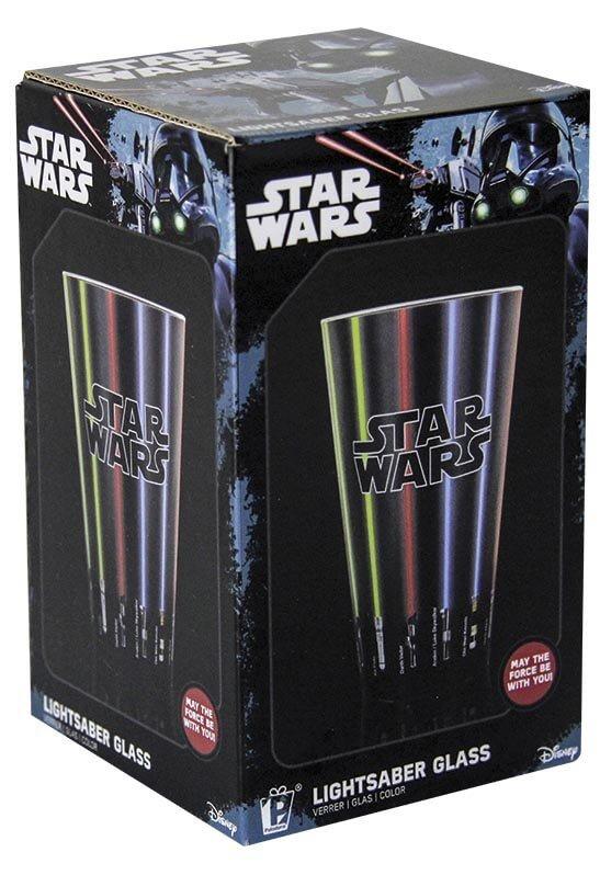 Sklenice Star Wars - světelný meč 400 ml