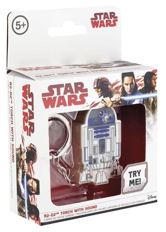 Klíčenka Star Wars - R2-D2 svítící