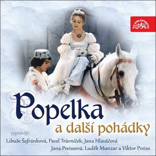 Popelka a další pohádky (CD) - audiokniha