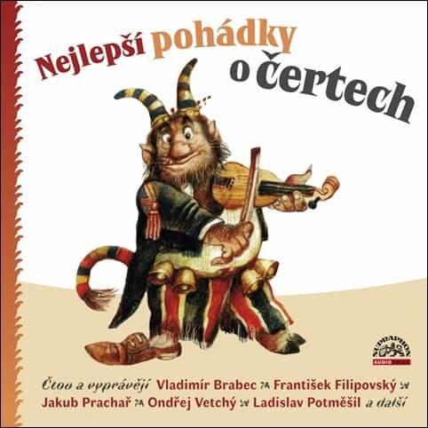Nejlepší pohádky o čertech (CD) - mluvené slovo