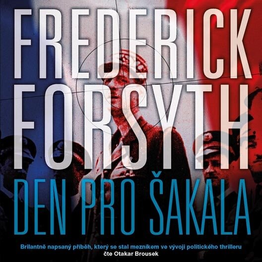 Den pro Šakala (2 MP3-CD) - audiokniha