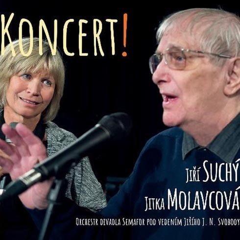 Jiří Suchý, Jitka Molavcová: Koncert! (CD)