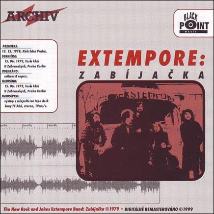 The New Rock And Jokes Extempore Band: Zabíjačka (CD)