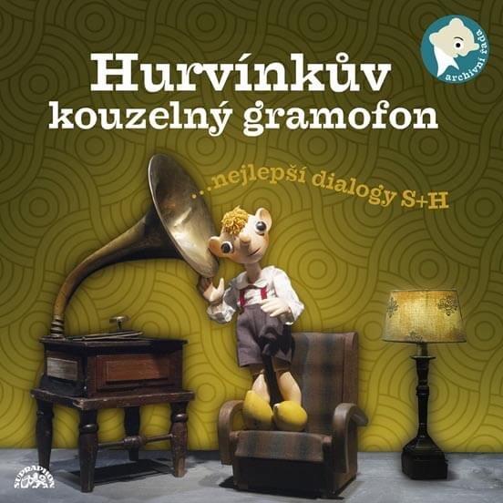 Hurvínkův kouzelný gramofon (CD) - mluvené slovo