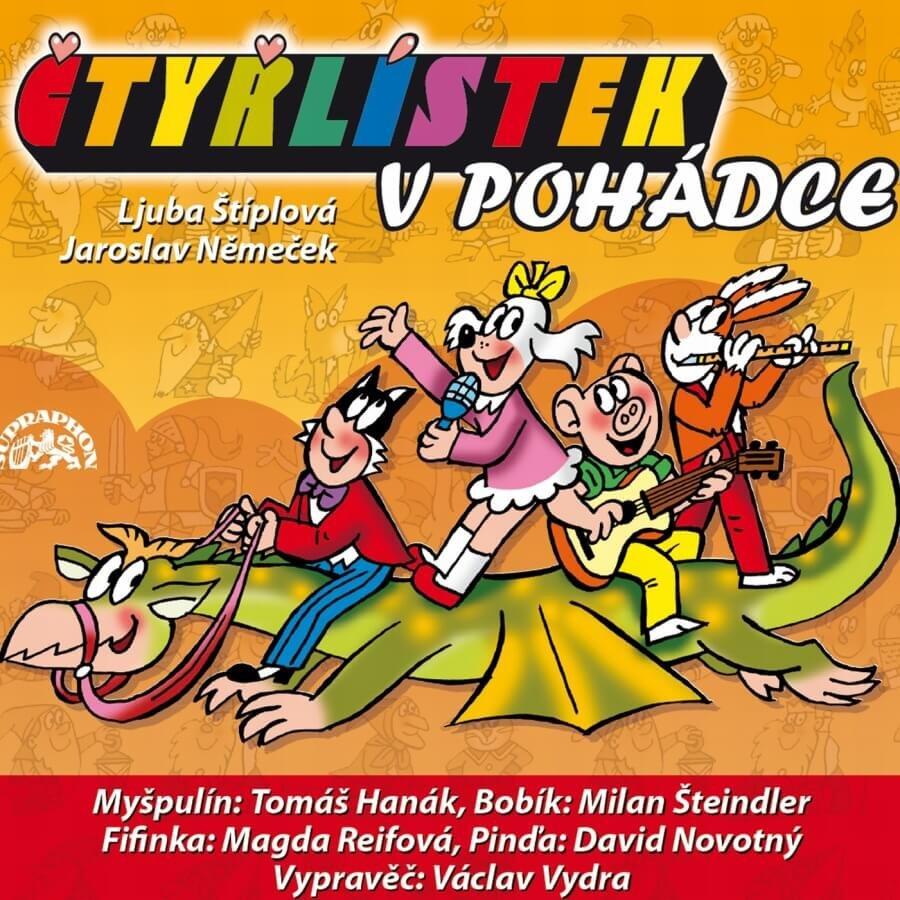 Čtyřlístek v pohádce (2 CD) - audiokniha