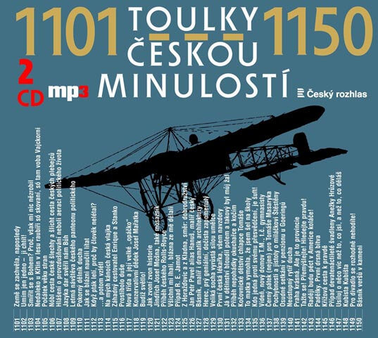 Toulky českou minulostí 1101-1150, Různí interpreti (2 MP3-CD) - mluvené slovo
