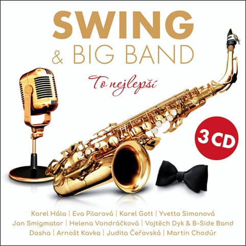 Swing & Big Band - To nejlepší, Různí interpreti (3 CD)