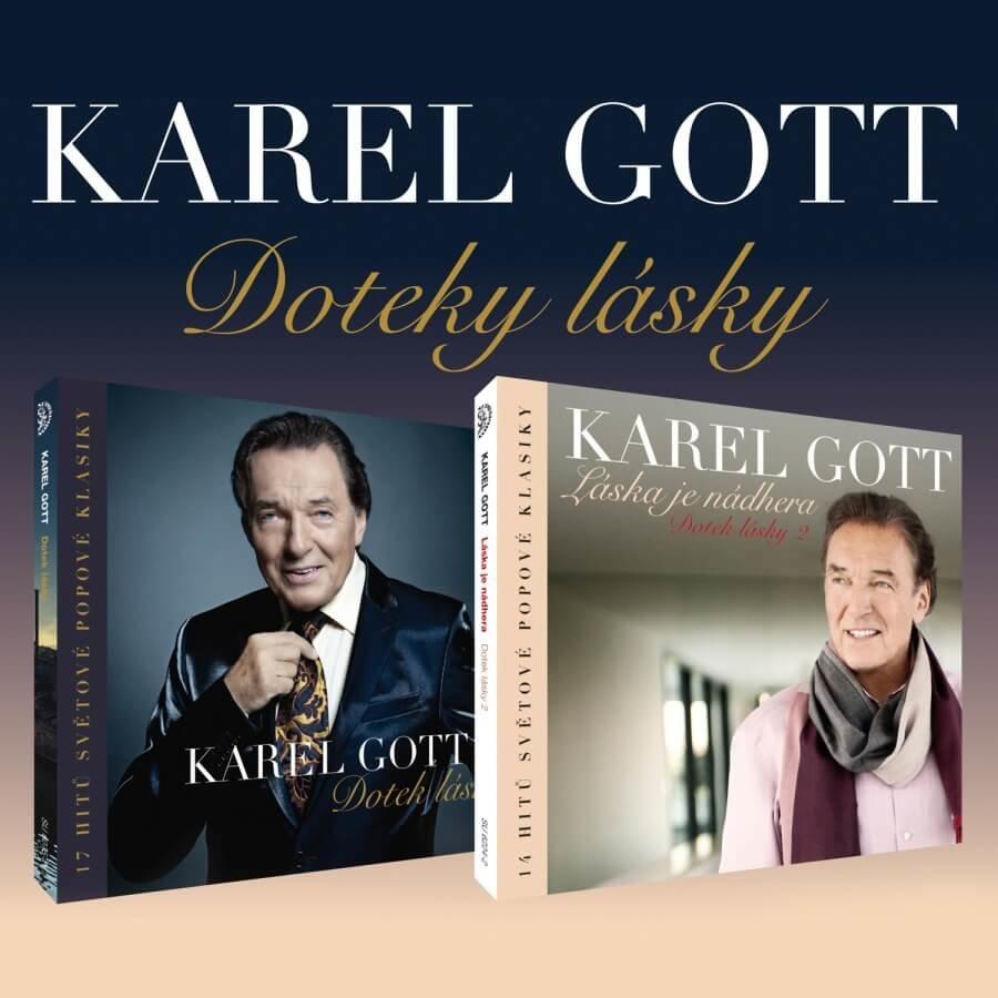 Karel Gott: Doteky lásky (2 CD)