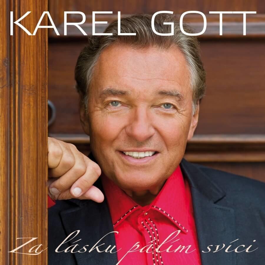 Karel Gott: Za lásku pálím svíci (2 CD)