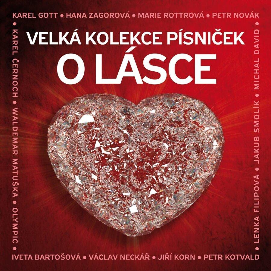 Velká kolekce písniček o lásce, Různí interpreti (3 CD)