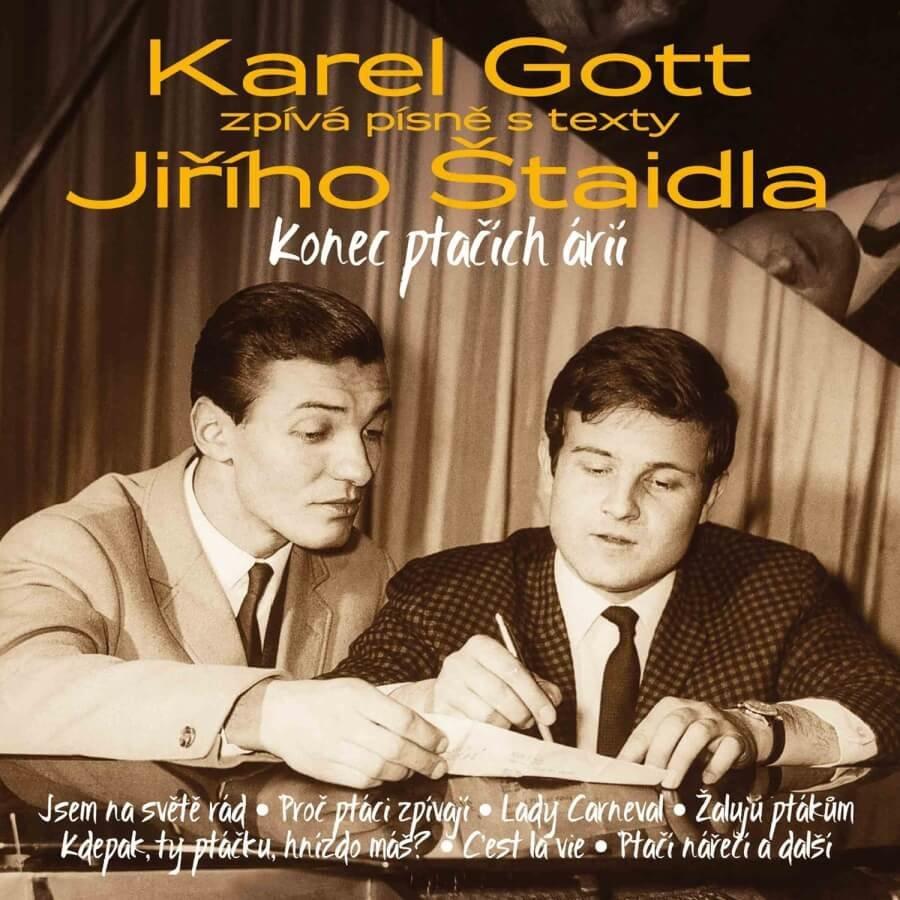 Karel Gott: Konec ptačích árií - Karel Gott zpívá písně s texty Jiřího Štaidla (3 CD)