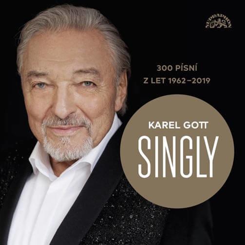Karel Gott: Singly - 300 písní z let 1962-2019 (15 CD)