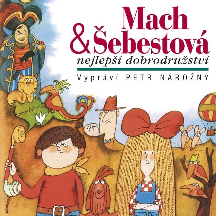 Mach a Šebestová - Nejlepší dobrodružství (CD) - audiokniha