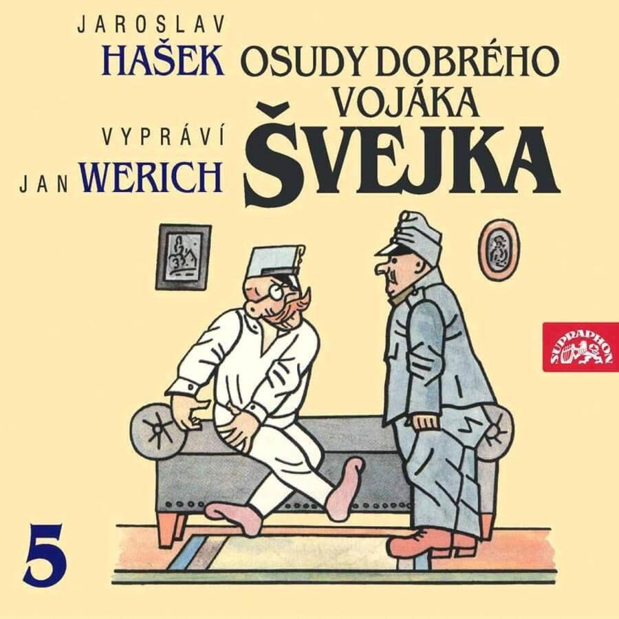 Osudy dobrého vojáka Švejka 5 (2 CD) - audiokniha