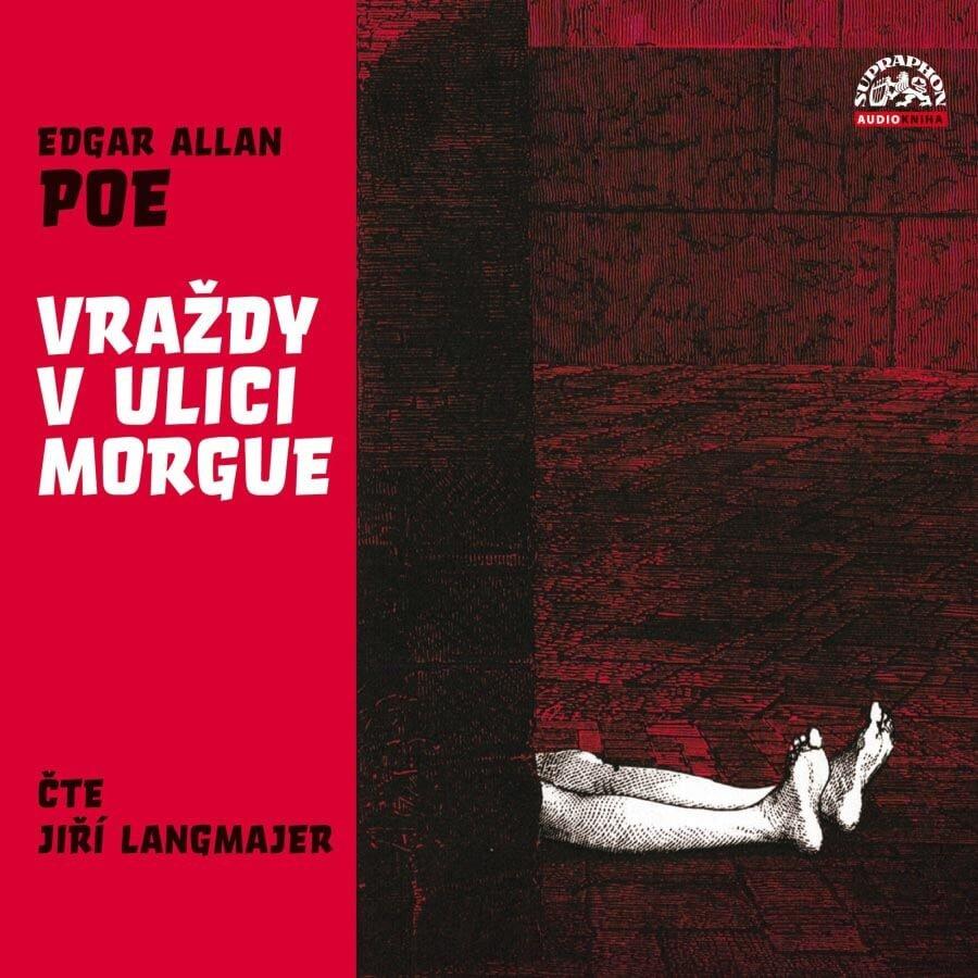 Vraždy v ulici Morgue (CD) - audiokniha