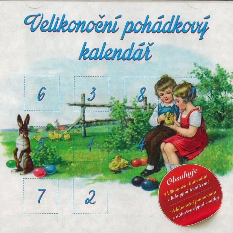Velikonoční pohádkový kalendář (CD) - audiokniha
