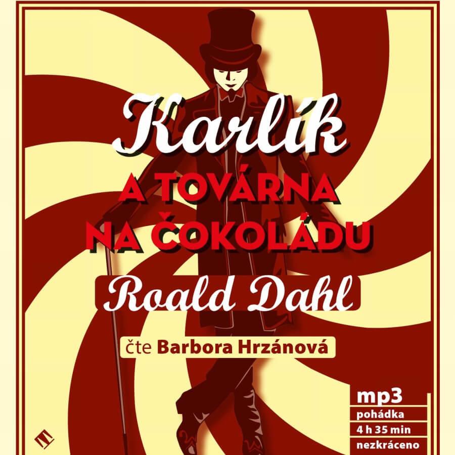 Karlík a továrna na čokoládu (MP3-CD) - audiokniha