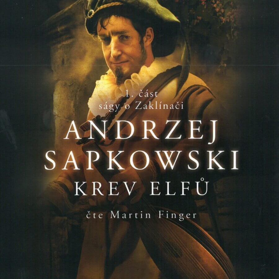 Zaklínač I - Krev elfů (MP3-CD) - audiokniha