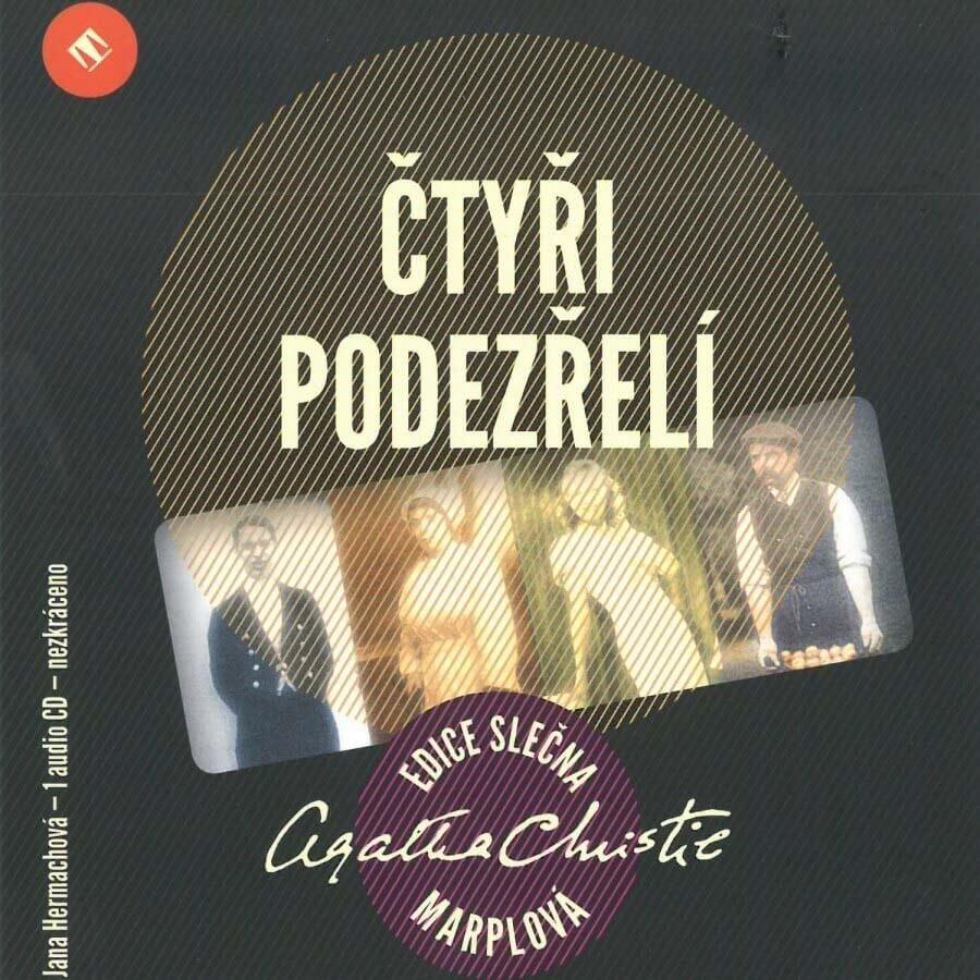 Čtyři podezřelí (CD) - audiokniha