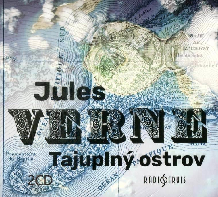Tajuplný ostrov (2 CD) - audiokniha
