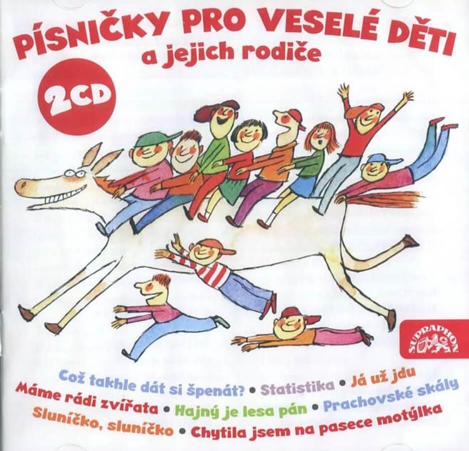 Písničky pro veselé děti a jejich rodiče (CD)