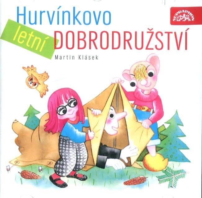 Hurvínkovo letní dobrodružství (CD) - mluvené slovo