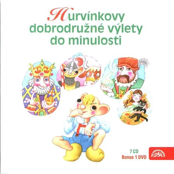 Hurvínkovy dobrodružné výlety do minulosti kolekce (7 CD + 1 DVD) - mluvené slovo