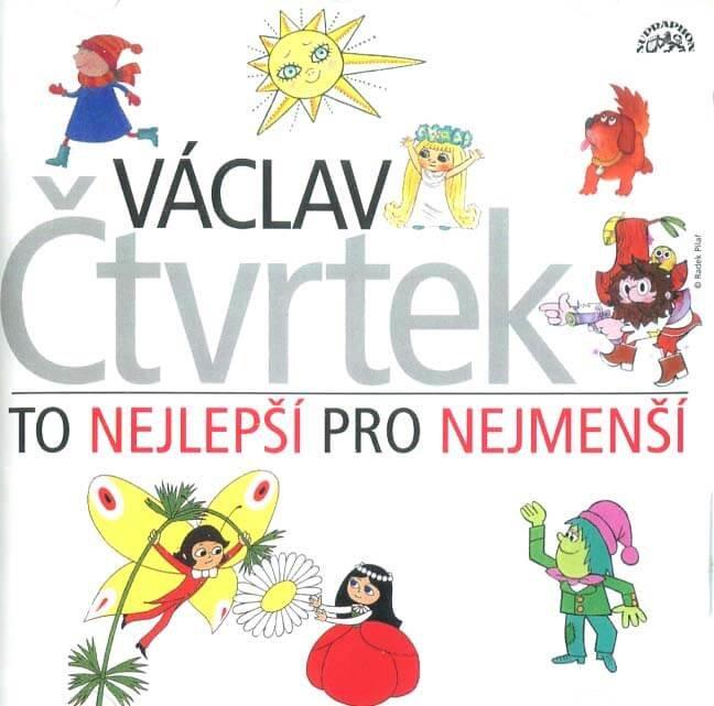Václav Čtvrtek: To nejlepší pro nejmenší (CD) - audiokniha