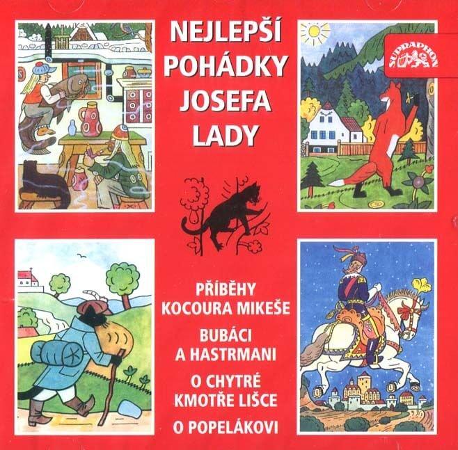 Nejlepší pohádky Josefa Lady (CD) - audiokniha