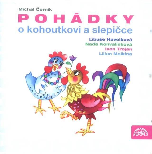 Pohádky o kohoutkovi a slepičce (CD) - audiokniha