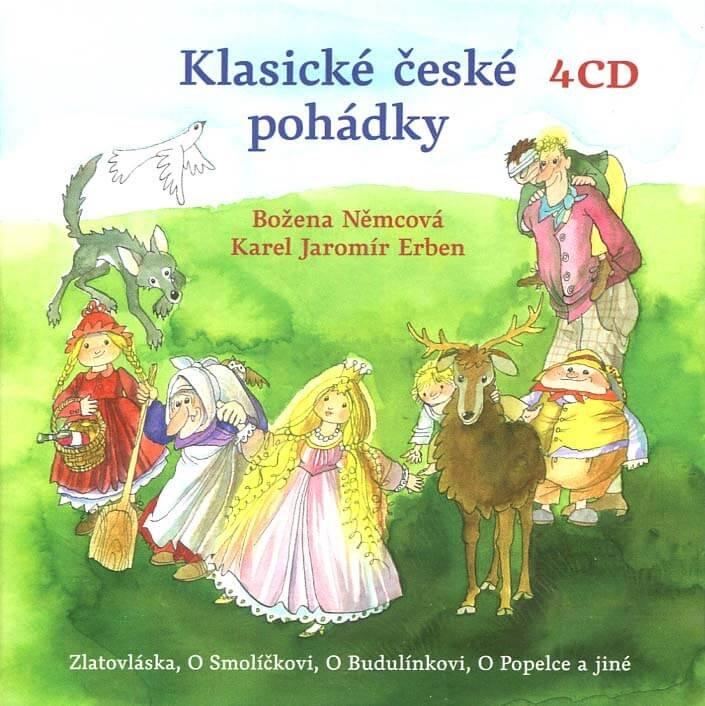 Klasické české pohádky (4 CD) - audiokniha