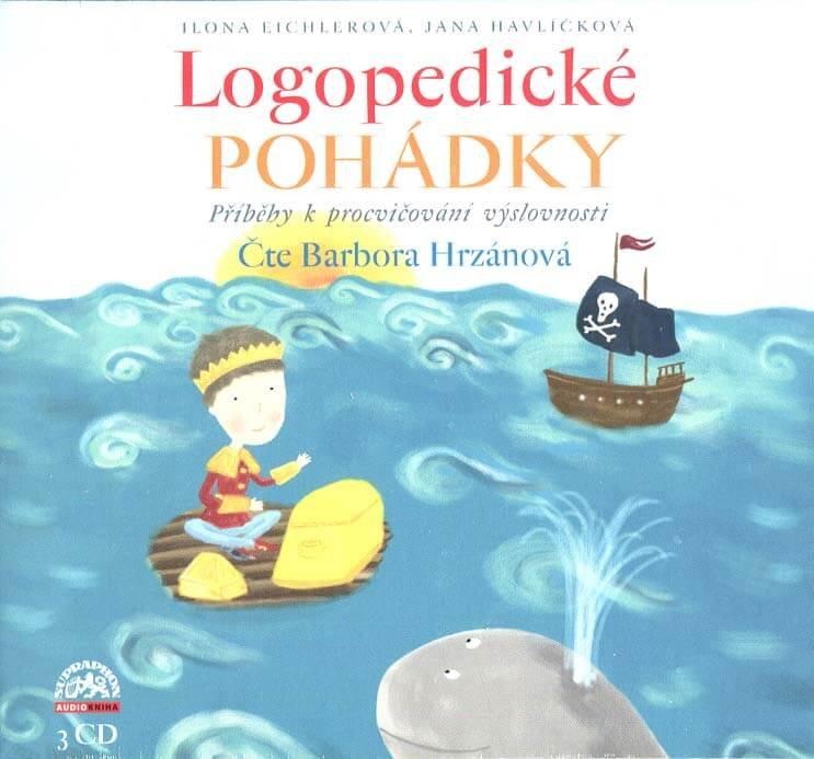 Logopedické pohádky (3 CD) - audiokniha