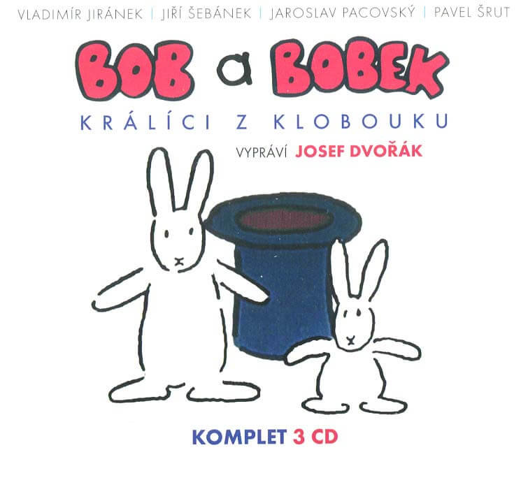 Bob a Bobek - Králíci z klobouku komplet (3 CD) - audiokniha
