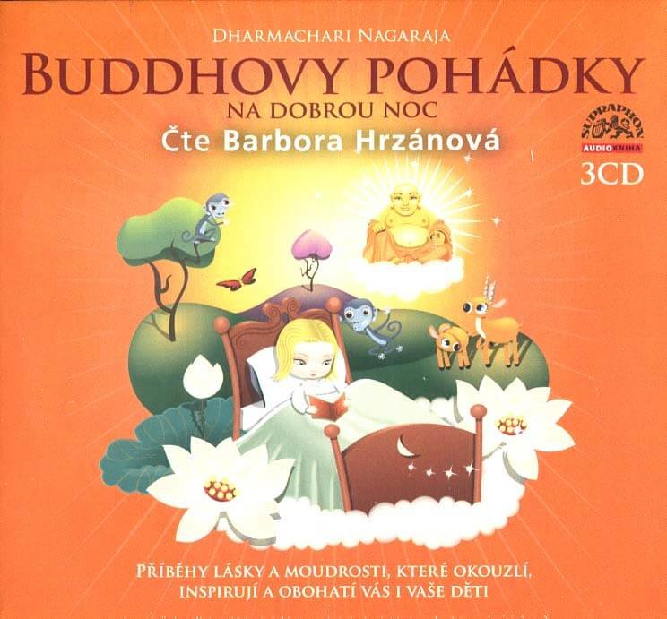 Buddhovy pohádky (3 CD) - audiokniha