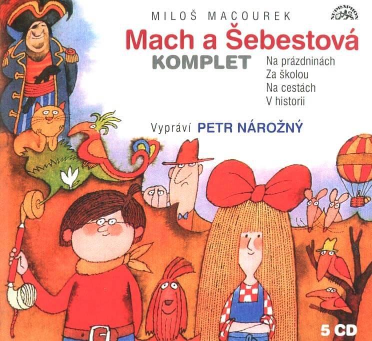 Mach a Šebestová Komplet (5 CD) - audiokniha