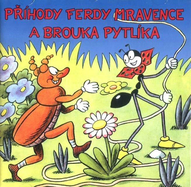 Příhody Ferdy Mravence a brouka Pytlíka (2 CD) - audiokniha