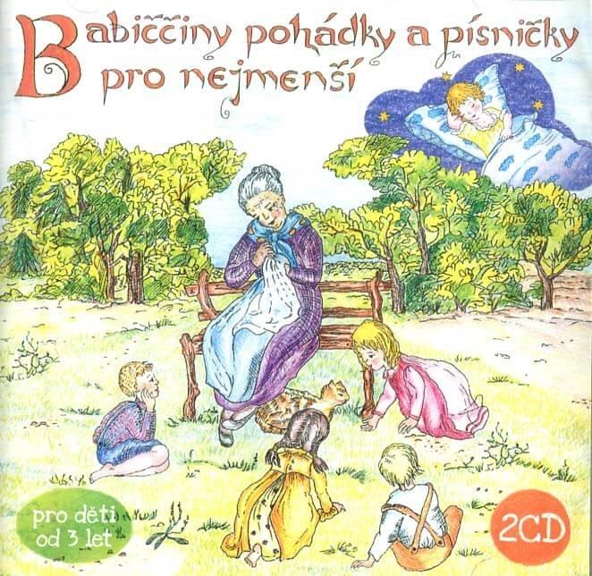 Babiččiny pohádky a písničky pro nejmenší (2 CD) - audiokniha