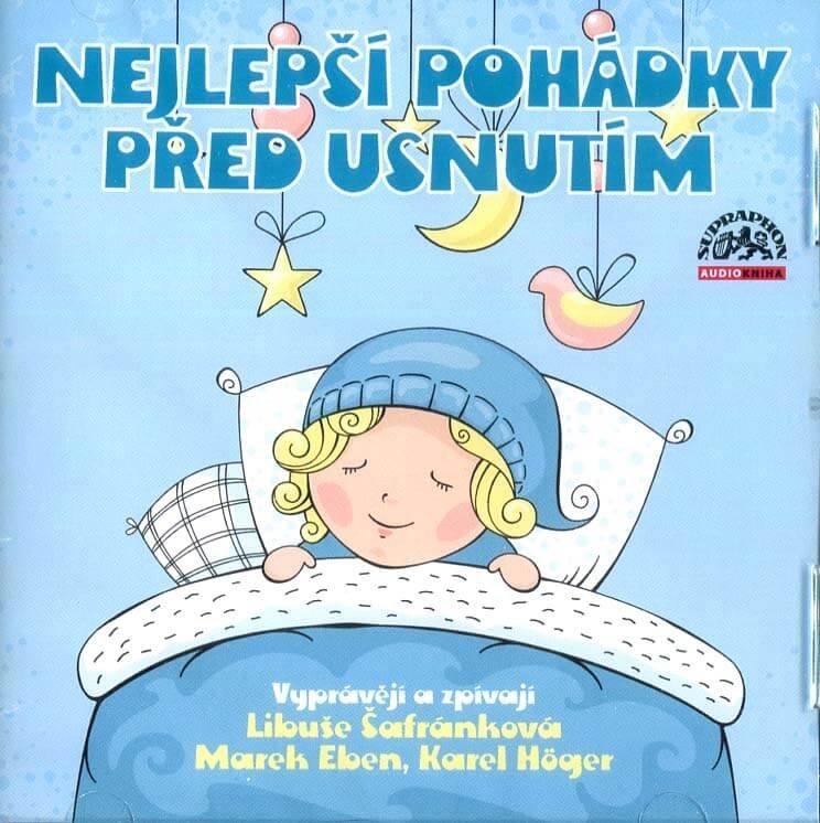 Nejlepší pohádky před usnutím (CD) - audiokniha