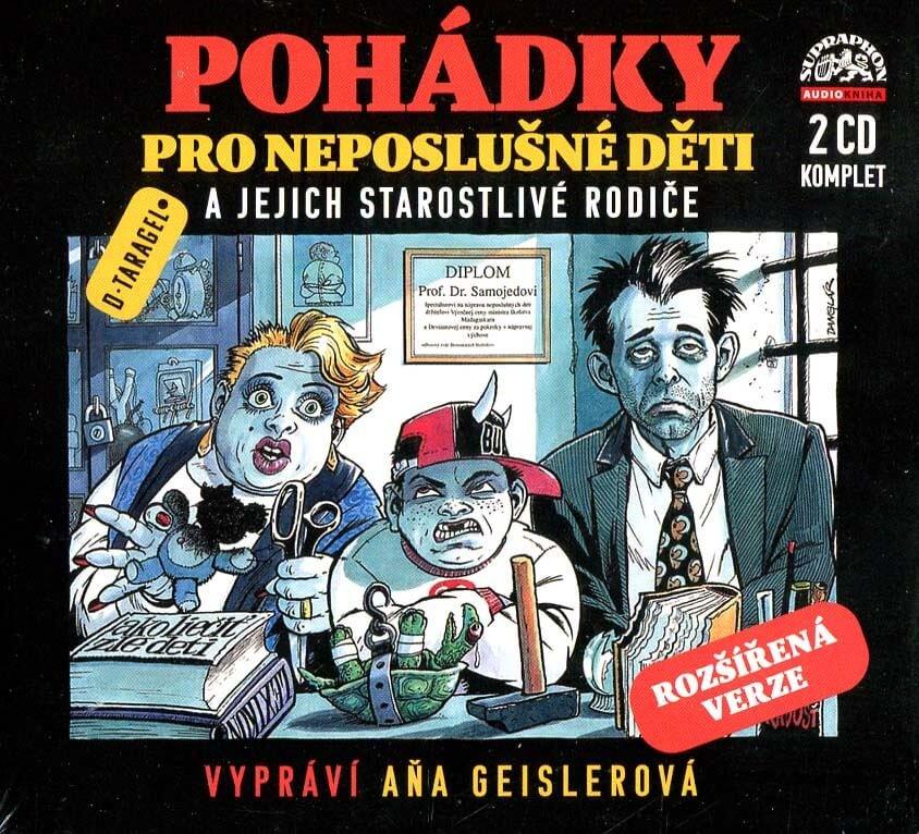 Pohádky pro neposlušné děti (2 CD) - audiokniha