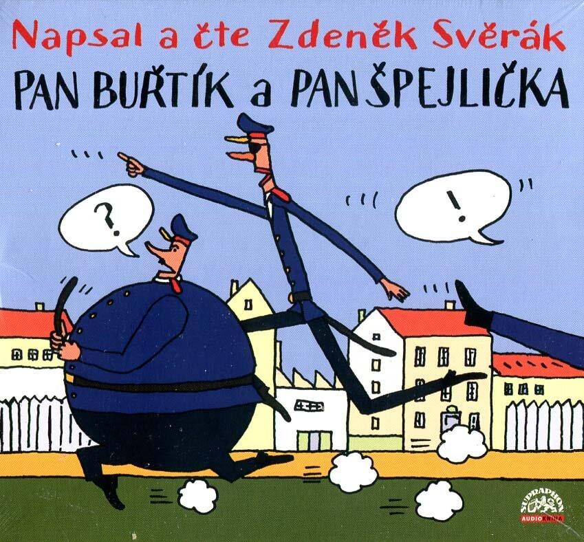 Pan Buřtík a pan Špejlička (CD) - audiokniha