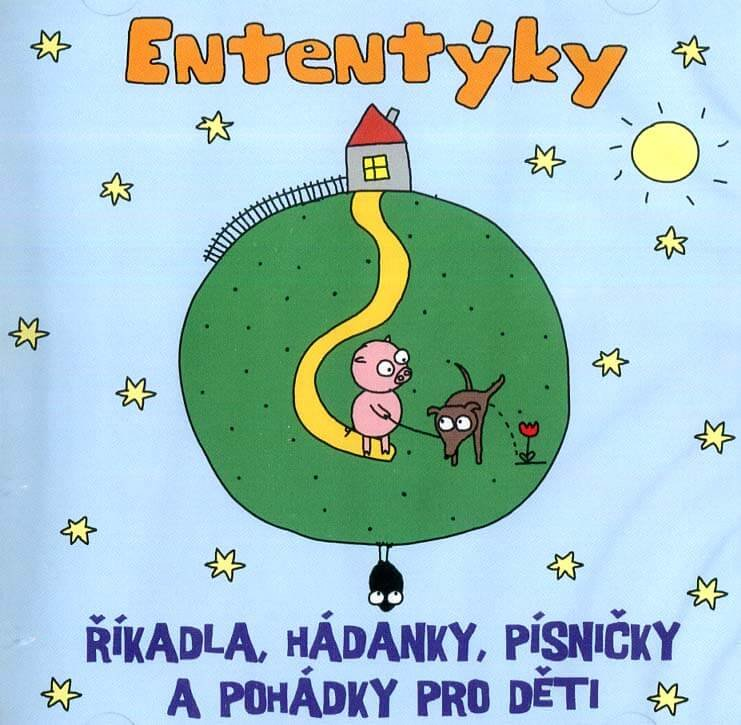 Ententýky - říkadla, hádanky a rozpočítadla pro nejmenší (CD)