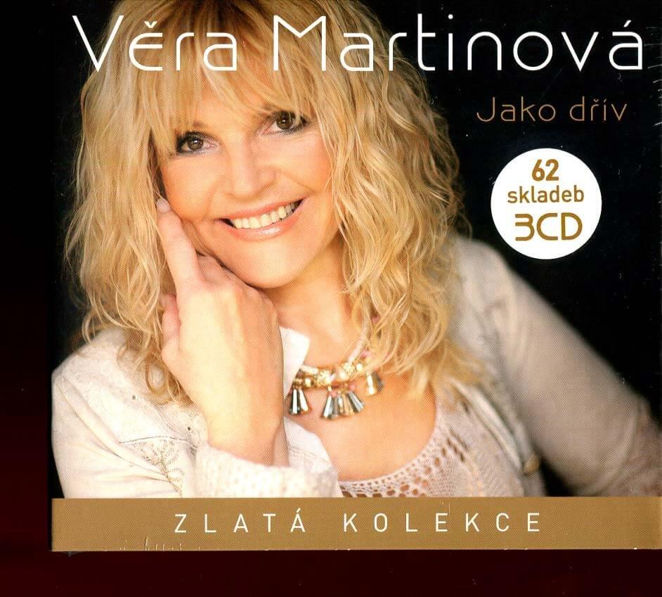 Věra Martinová: Jako dřív - Zlatá kolekce (3 CD)