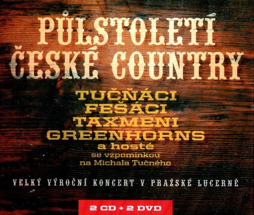 Půlstoletí české country (2 CD + 2 DVD)