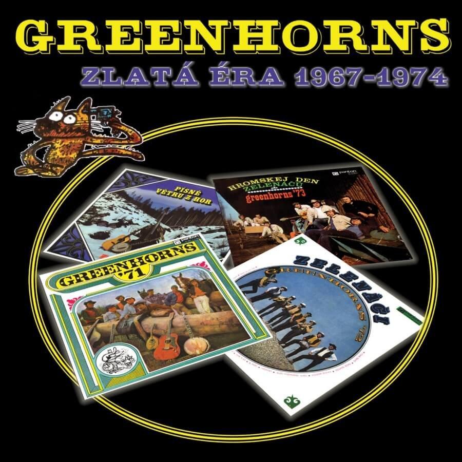 Greenhorns (Zelenáči) - Zlatá éra 1967 - 1974 (3 CD)